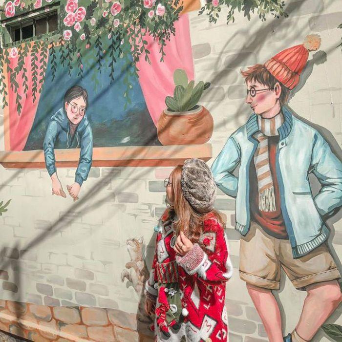 Du lịch đà lạt nhất định phải check-in phố bích họa mới toanh