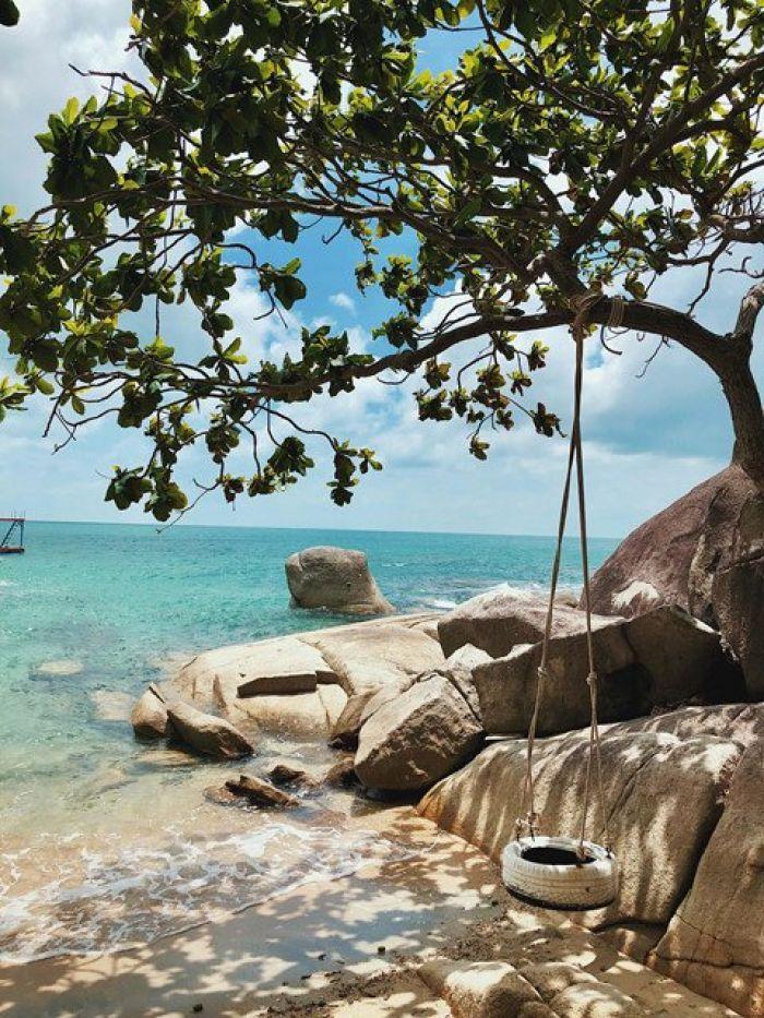 Tận hưởng sự bình yên ở hòn đảo ít người biết gần phú quốc