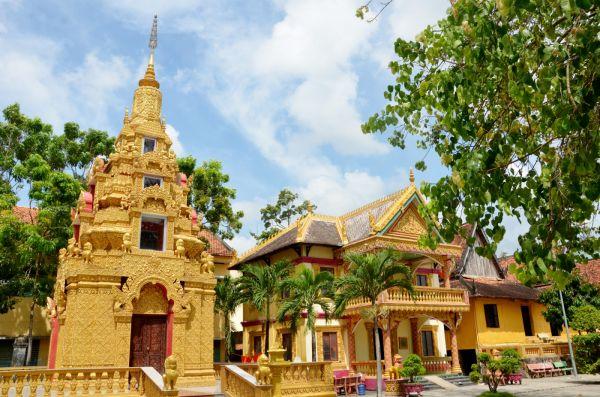 Chùa Mới - Ngôi chùa Khmer hơn 140 năm tuổi tại An Giang