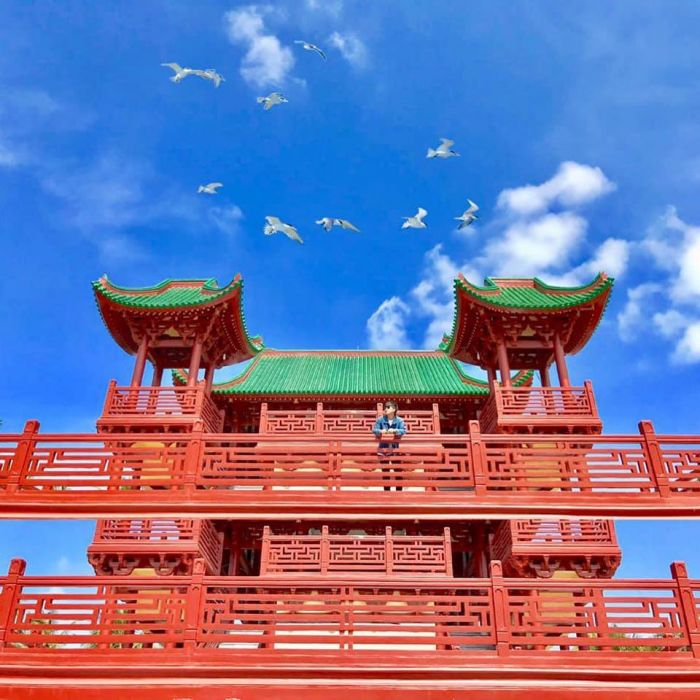 Hướng dẫn di chuyển đến Chùa Lầu ở An Giang - kysudulich.com