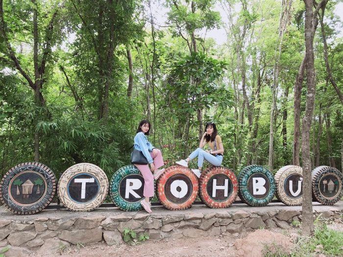 Hướng dẫn đường đi khu du lịch sinh thái Troh Bư Buôn Đôn - kysudulich.com
