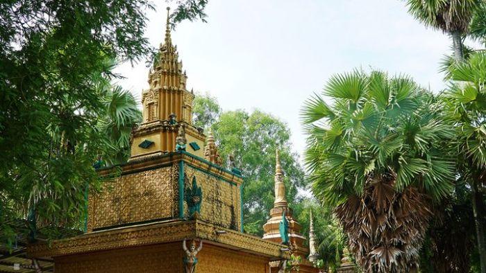 Chùa Mới, ngôi chùa Khmer hơn 140 năm tuổi ở An Giang - kysudulich.com