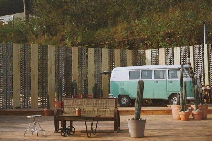 Quán cà phê kombi land như miền viễn tây nước mỹ ở đà lạt