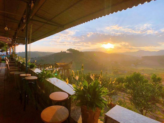 Hướng dẫn đường đi tới Thúy Thuận Coffee - quán cà phê có diện tích khủng nhất Đà Lạt - kysudulich.com