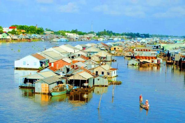Cùng Ký Sự Du Lịch trải nghiệm làng nổi Châu Đốc, An Giang nhé
