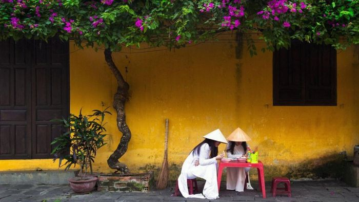 Lời giải cho những bức tường mang màu thời gian ở Hội An - kysudulich.com
