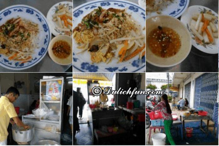 Địa điểm ăn uống ở An Giang ngon bổ rẻ. Những quán ăn ngon, đông khách ở thành phố Long Xuyên
