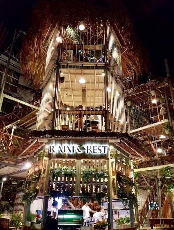 Quán cà phê Rain Forest - 'rừng mưa nhiệt đới' ở Nha Trang