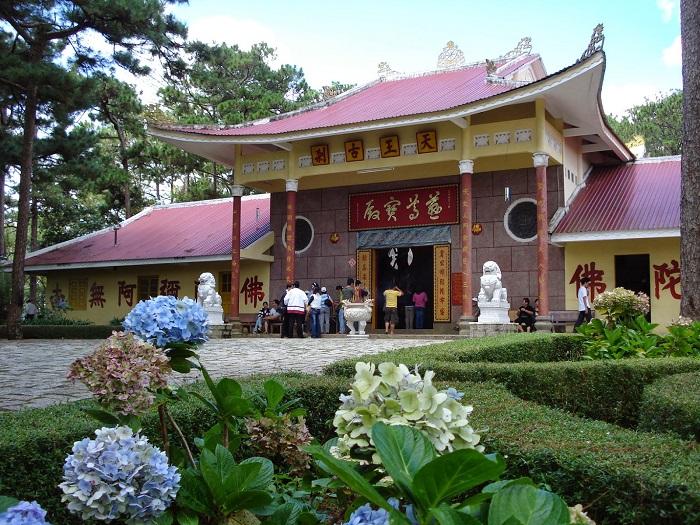 Cùng thăm quan những ngôi chùa cổ kín, nổi tiếng tại Đà Lạt _ Chùa Vương Cổ Sát