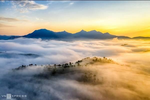 Sương giăng phố núi Đà Lạt