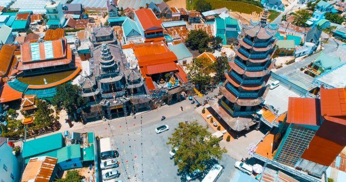 Những điểm du lịch có thể nhìn từ trên cao tại Đà Lạt