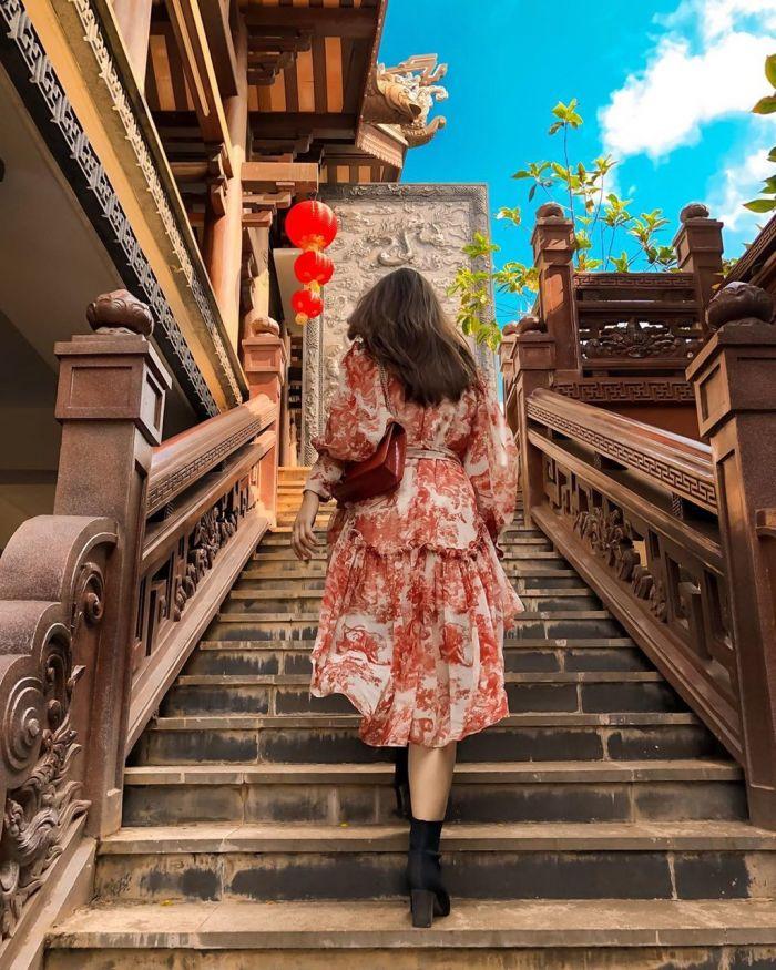 Ghé thăm chùa Sắc Tứ Khải Đoan ở Buôn Ma Thuột hút giới trẻ check-in