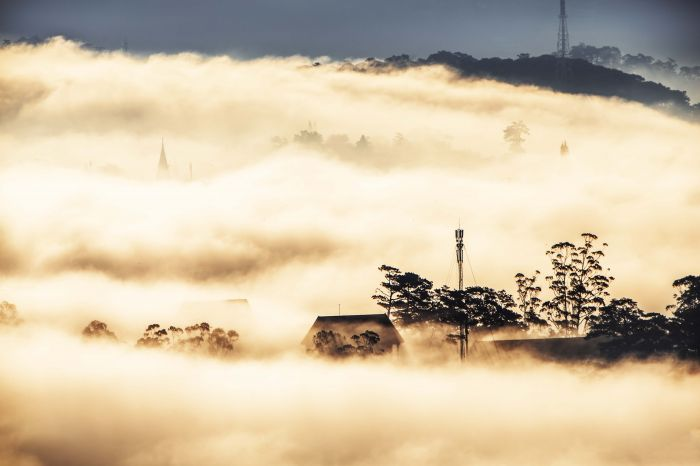 Dậy từ 3h sáng săn biển mây phủ kín Đà Lạt - kysudulich.com