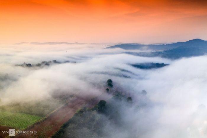 Sương giăng phố núi Đà Lạt - kysudulich.com