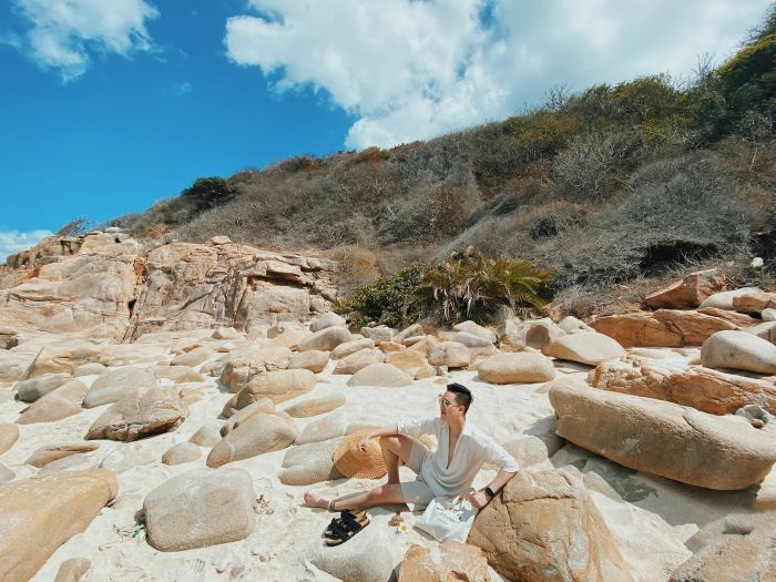 Vi vu đảo Bình Hưng, Ninh Thuận với 5 tọa độ check-in thu hút giới trẻ - kysudulich.com