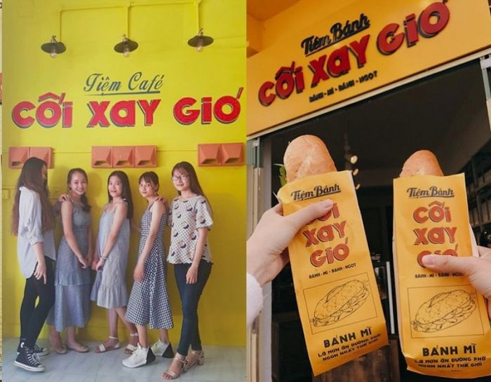 Tiệm bánh Cối Xay Gió - quán bánh ngon ở Đà Lạt