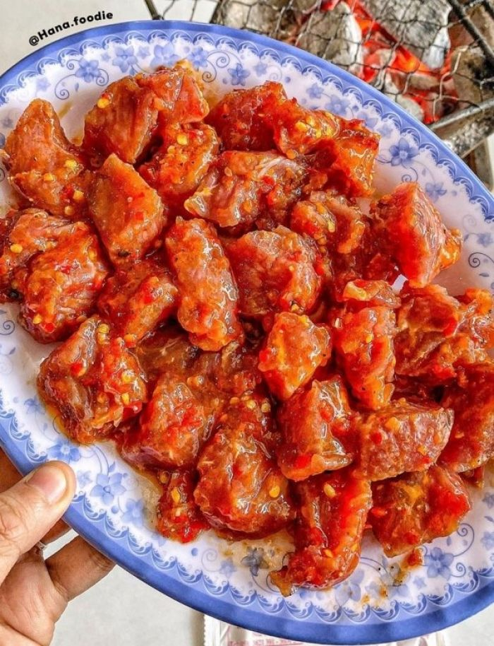 Quán bò nướng Lạc Cảnh hơn 40 tuổi ở Nha Trang - kysudulich.com