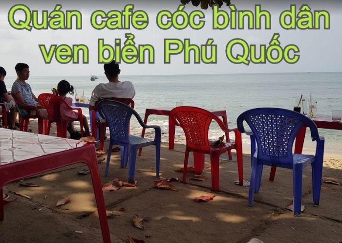 Quán cafe cóc bình dân ven biển Phú Quốc view đẹp. Đi đâu uống cafe ở Phú Quốc? Coffee Trạm Hải Đăng