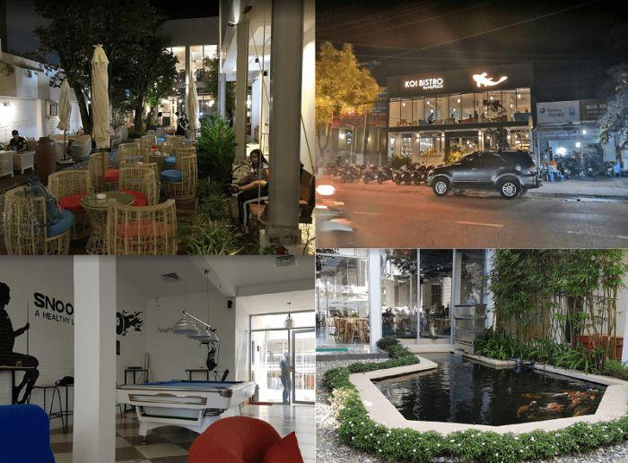 Quán cafe đẹp ở Phú Quốc độc đáo, nổi tiếng. Đi đâu uống cafe ở Phú Quốc? Koi Bistro Cafe