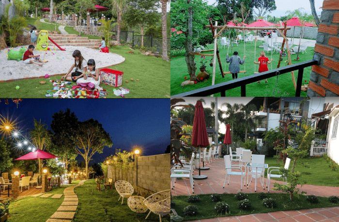 Quán cafe sân vườn đẹp ở Phú Quốc. Phú Quốc có quán cafe nào đồ uống ngon, view đẹp? Wonderland Coffee