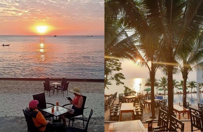 Quán cafe ven biển Phú Quốc view đẹp, nổi tiếng. Seaview & Cafe Phú Quốc