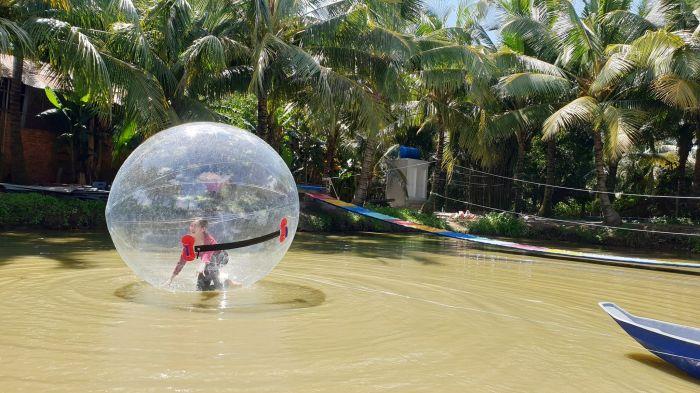 Khám phá vườn sinh thái Hồng Sơn sắp hoạt động ở An Giang