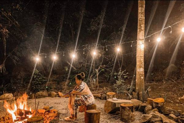 Phát hiện homestay Nhà Của Mây có view núi rừng ở An Giang